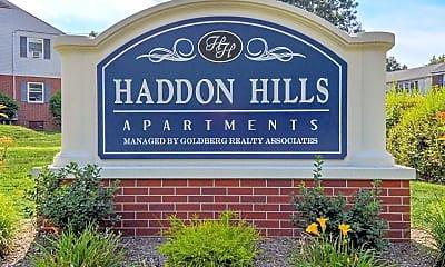 Community Signage, Haddon Hills Apartments, 2