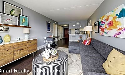 Living Room, 7900 River Road, 2