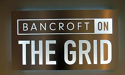 Community Signage, Bancroft On The Grid, 0