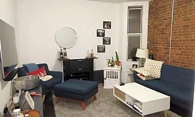 Living Room, 538 E 84th St, 1