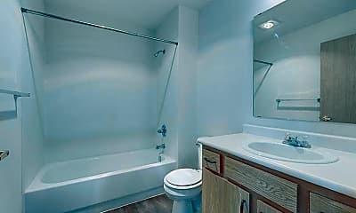 Bathroom, Vintage at Holly Village, 2