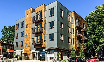 Building, 1415 SW Columbia St, 1