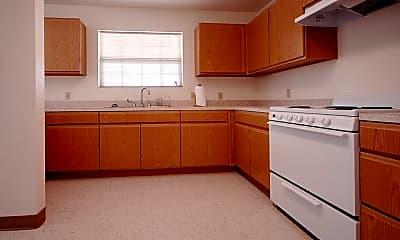 Kitchen, Echols Place Apartments, 1