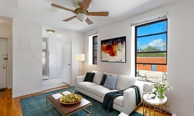Living Room, 443 W 151st St 4-D, 0