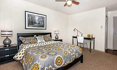 Bedroom, Canyon Village Apartment Homes, 2