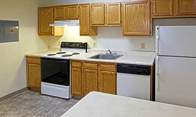 Kitchen, Hudson Terrace Apartments, 0
