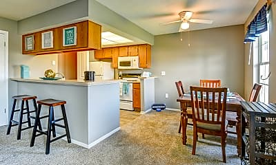 Dining Room, Highland Ridge, 1