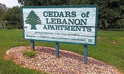 Cedars Of Lebanon Apartments, 1