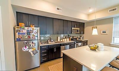 Kitchen, 1607 Catharine St 2G, 1