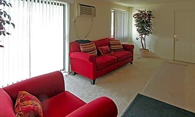 Living Room, Heatherwood Apartments, 1