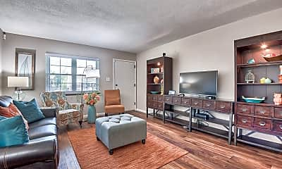 Living Room, Chalet Apartments, 0