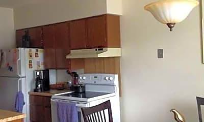 Kitchen, Carrollton Apartments II, 1