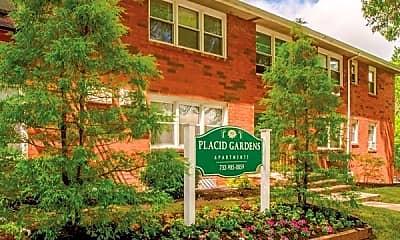 Community Signage, Placid Gardens, 2