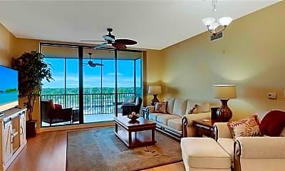 Living Room, 5781 Cape Harbour Dr 605, 1