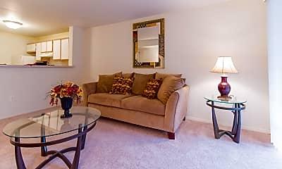 Living Room, Woodlake Hills, 1
