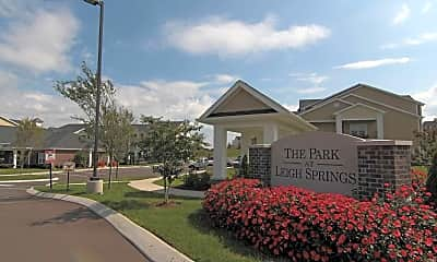 Community Signage, The Park At Leigh Springs, 2