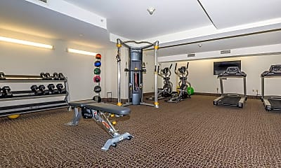 Fitness Weight Room, Marshall Place, 0