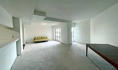 Living Room, 250 President St 704, 1