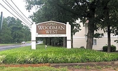 Woodman West Apartment, 1