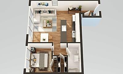 Living Room, 3 W 36th St 5-B, 2
