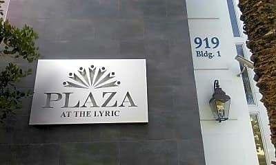 Plaza at the Lyric, 1