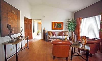 Living Room, Autumn Creek Apartments, 1