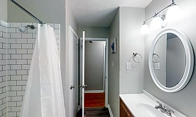 Bathroom, Room for Rent -  a 20 minute walk to bus stop Wesl, 0