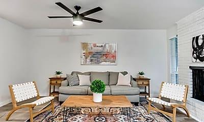 Living Room, 4207 Bowser Ave, 0