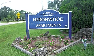 Community Signage, Heronwood, 0
