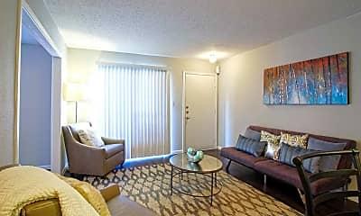 Living Room, Cypress Ridge Apartments, 1