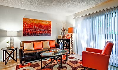 Living Room, Ashbury Court, 1
