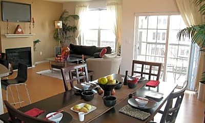 Dining Room, Loring Park Apartments, 1