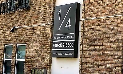 The Quarter Apartments, 1