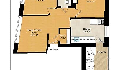 Bedroom, 1414 W Wilson Ave, 2