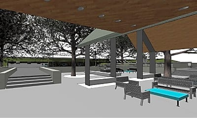 Pool, Moon Grove Apartments, 1