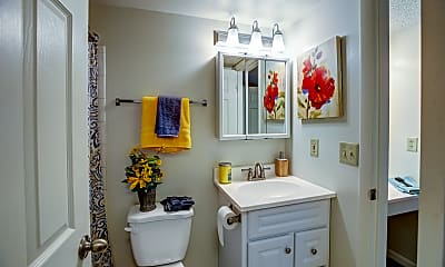 Bathroom, Tall Timber, 2