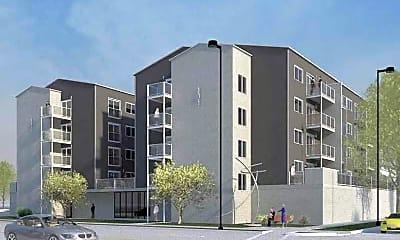 Rendering, Hardwick Apartments, 0