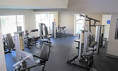 Fitness Weight Room, Park Regency, 2