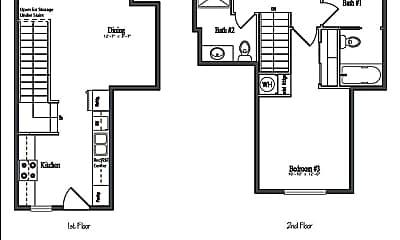 Living Room, 1739 Ferry St, 1