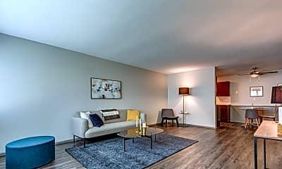 Living Room, Normandale Lake Estates, 0