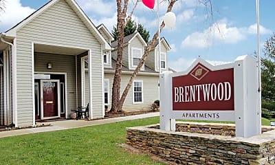Community Signage, Brentwood, 2