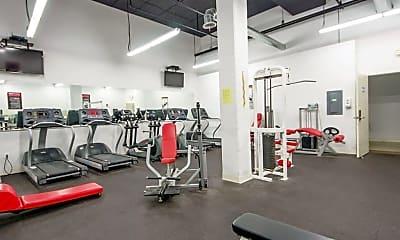 Fitness Weight Room, Diamond Green - Student Housing, 2