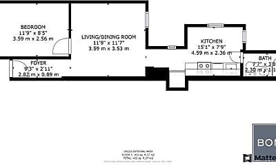 Bathroom, 1502 1st Ave, 2