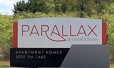 Parallax @ Georgetown, 1