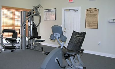 Fitness Weight Room, Sierra Royale, 2