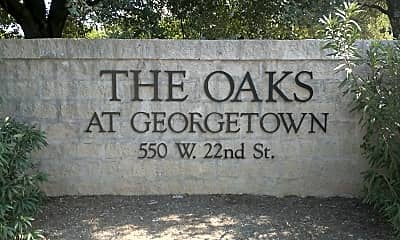 Oaks at Georgetown, The, 1