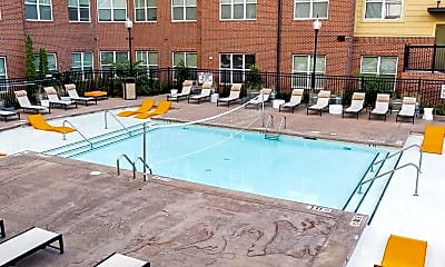 Pool, Campus View Apartments, 0