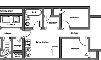 Bedroom, 1309 121st St, 2