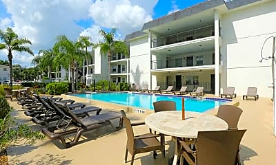 Pool, Applegate Apartments, 0