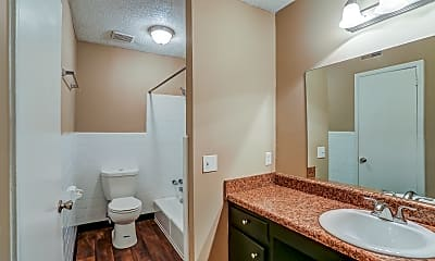 Bathroom, Parkview Flats, 2